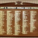 Maleny WW2 and Later Honour Board