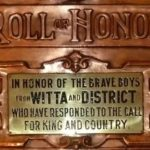 Witta District WW1 Honour Board